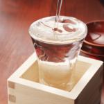 日本酒と水溶紙で簡単に出来る